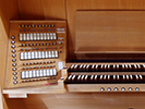 organ with electronic valves